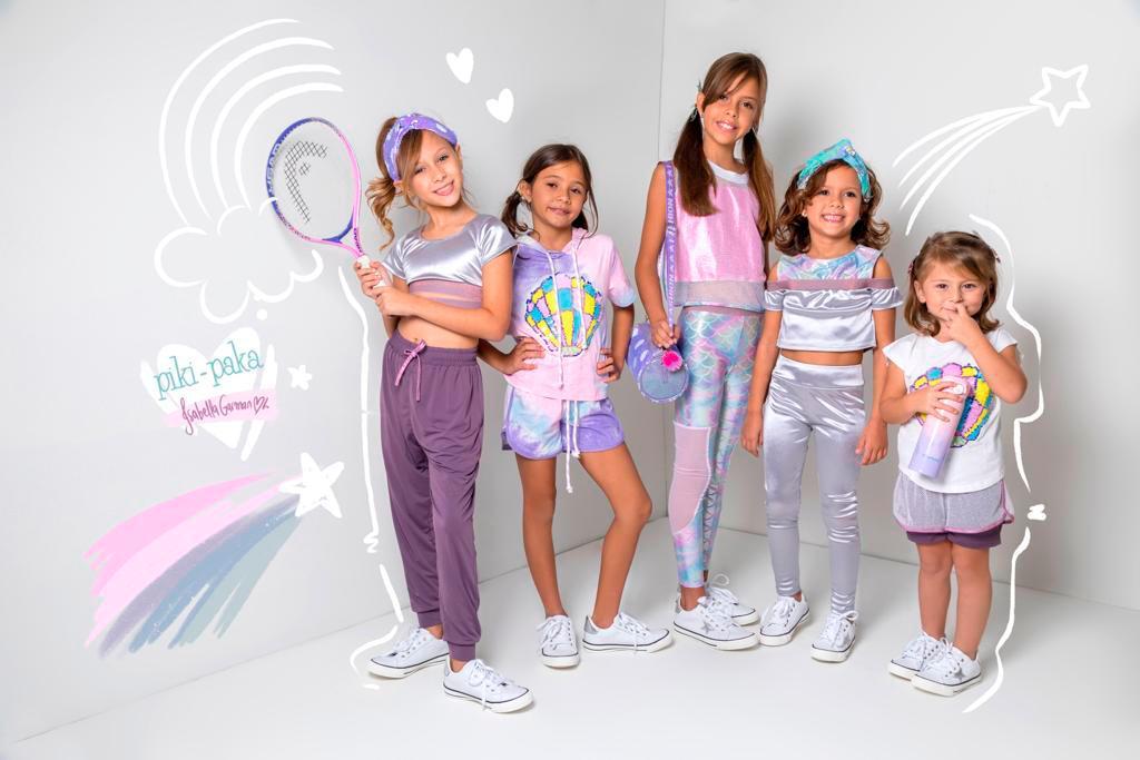 Ixel Moda llega este sábado con 'Piki Paka'y su línea de ropa deportiva para niños