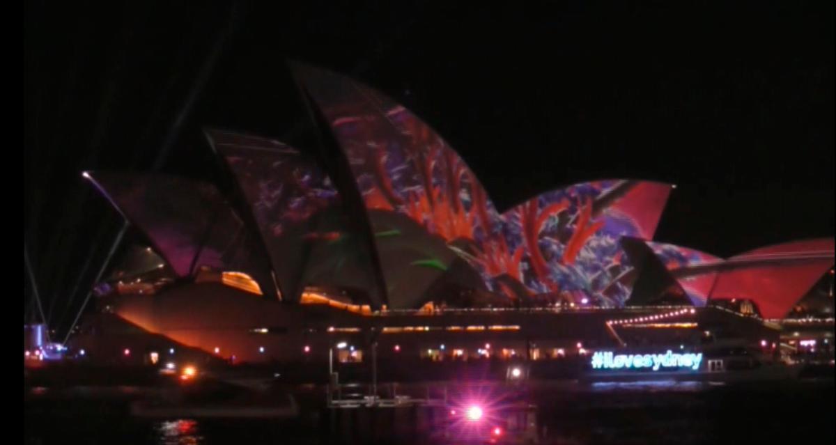 Festival Vivid, uno de los más grandes del mundo, celebra 30 años de Pixar
