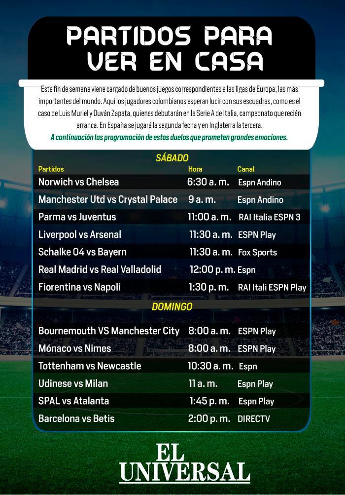 ¡Atento! Estos son los partidos de fútbol más importantes para ver en casa