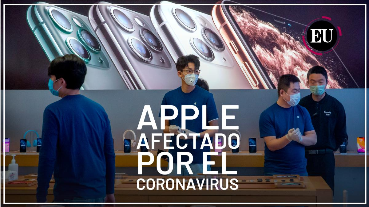 [Video] Apple admite que no obtendrá ingresos previstos ante el brote del coronavirus