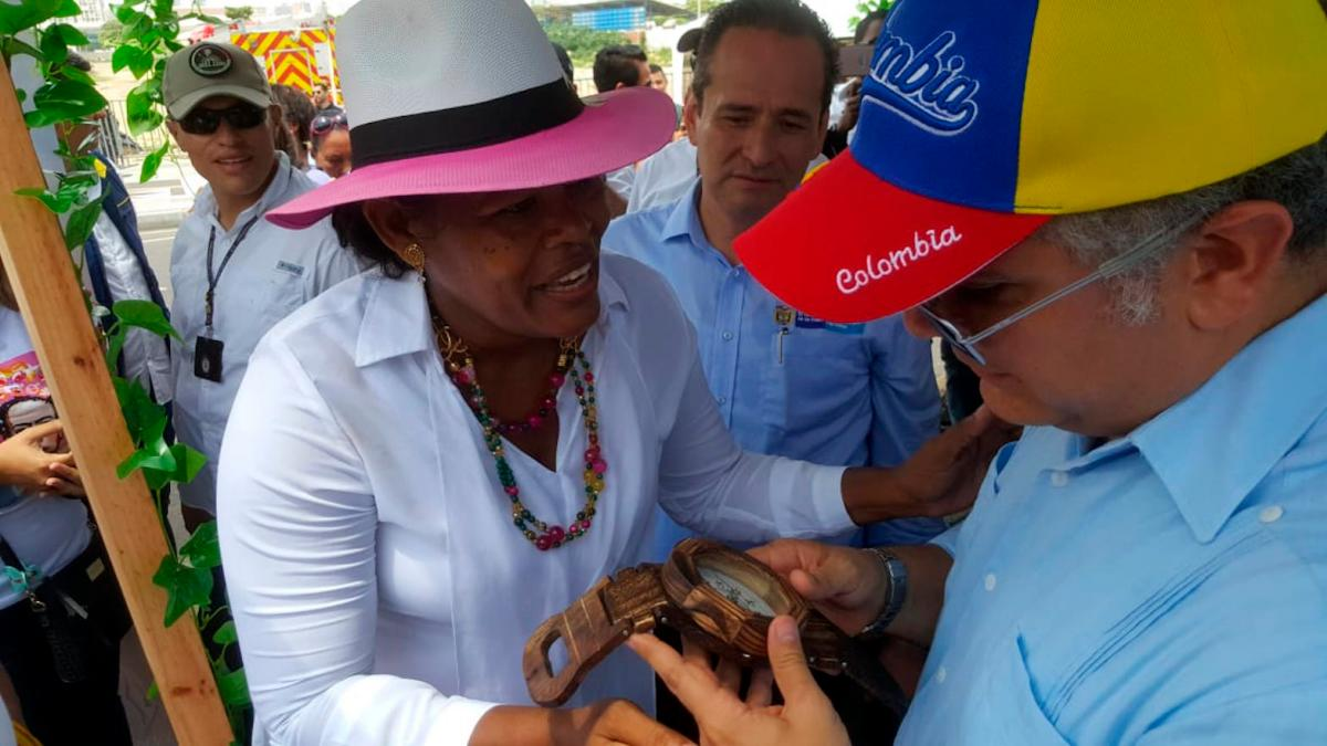 Víctimas le pidieron al presidente Duque más recursos y protección a sus líderes