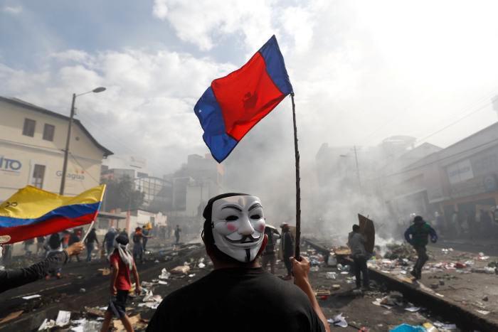 El ataque más reciente fue realizado a las instalaciones del diario El Comercio. // AP.