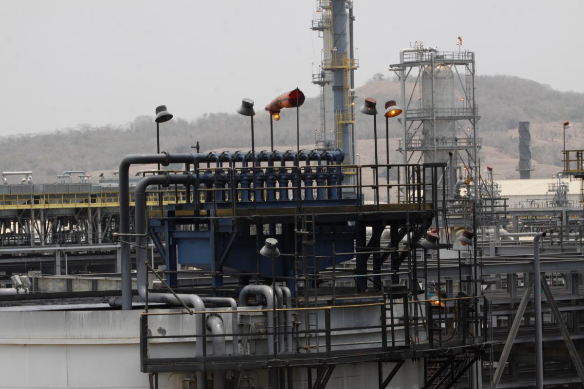 La Refinería de Cartagena entró en operación en 2016. // Archivo El Universal