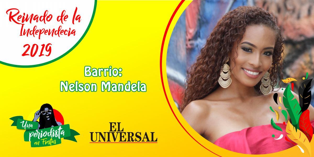Shelsy Arias candidata al Reinado de Independencia por Nelson Mandela