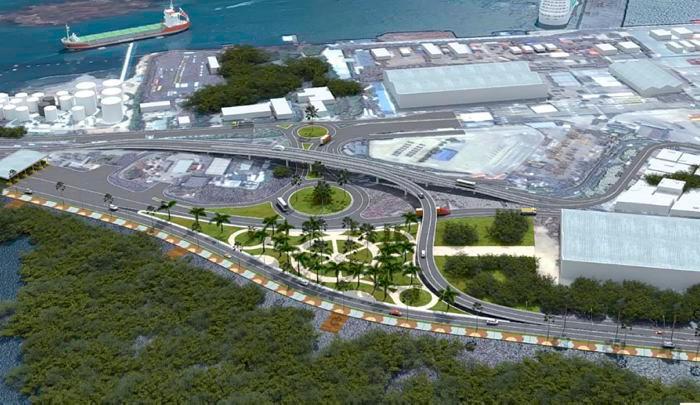 La Quinta Avenida de Manga será la primera fase de un macroproyecto vial denominado Corredor Portuario y Turístico de Cartagena.//Cortesía KMA.