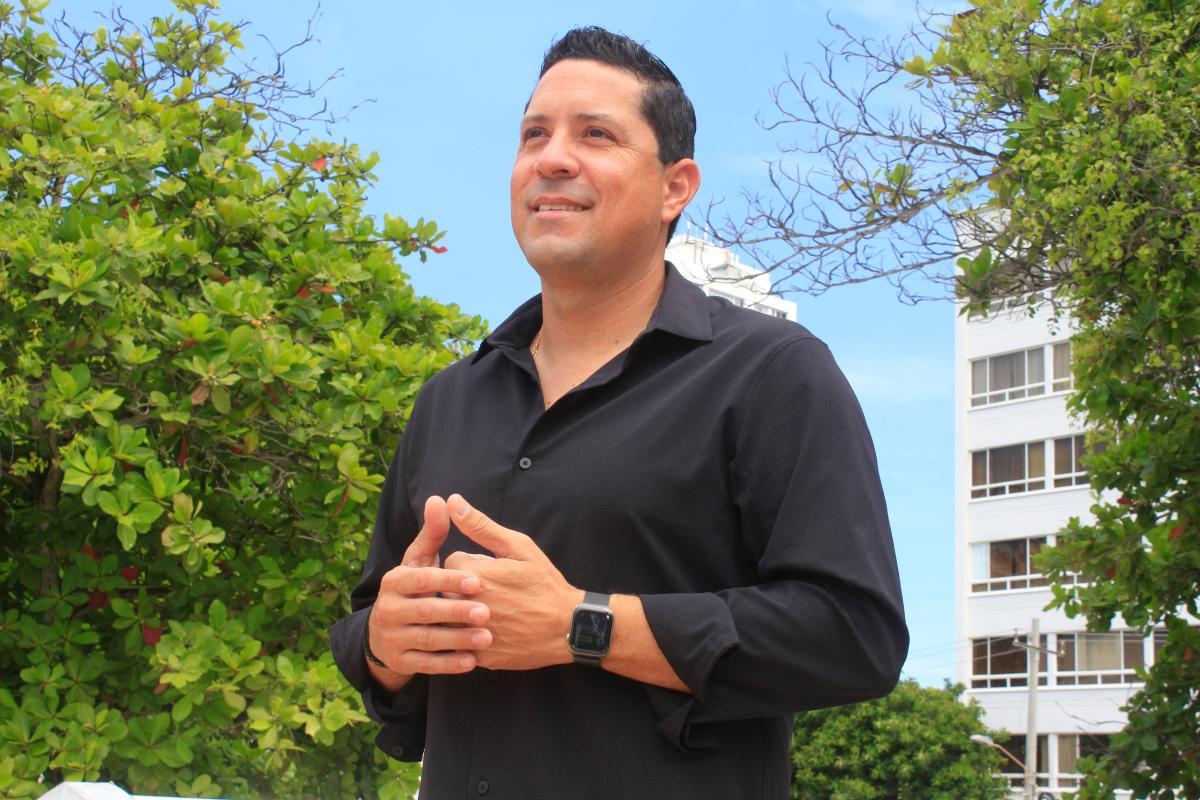 Roberto Cadena, empresario cartagenero.