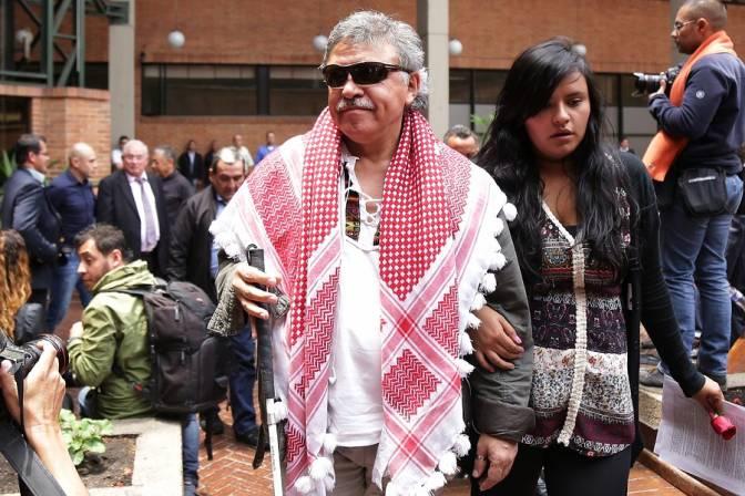Jesús Santrich fue requerido en extradición por los Estados Unidos. // Colprensa