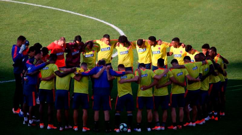 Luis Muriel, Duván Zapata y Roger Martínez estarán en la delantera de la Selección. // Colprensa