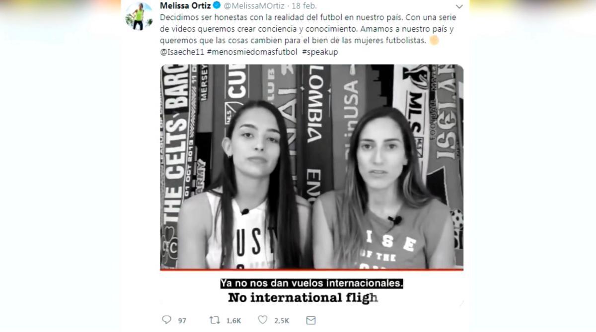 Jugadoras de la selección femenina de Colombia denuncian abusos