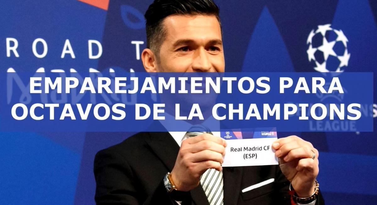 Así quedó el sorteo de los octavos en la Champions League
