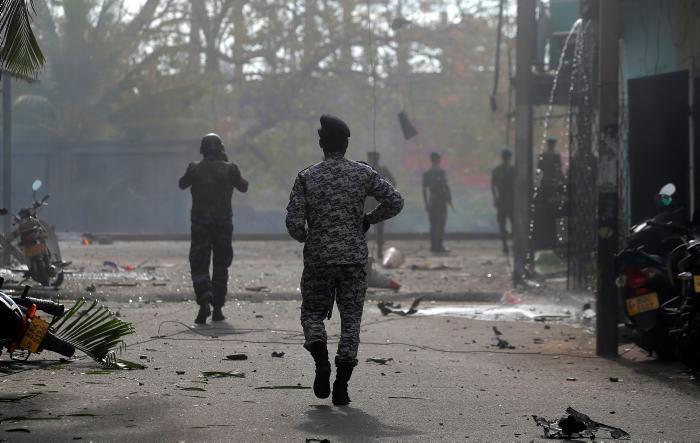 Aumentan a 290 la cifra de muertos por atentados en Sri Lanka