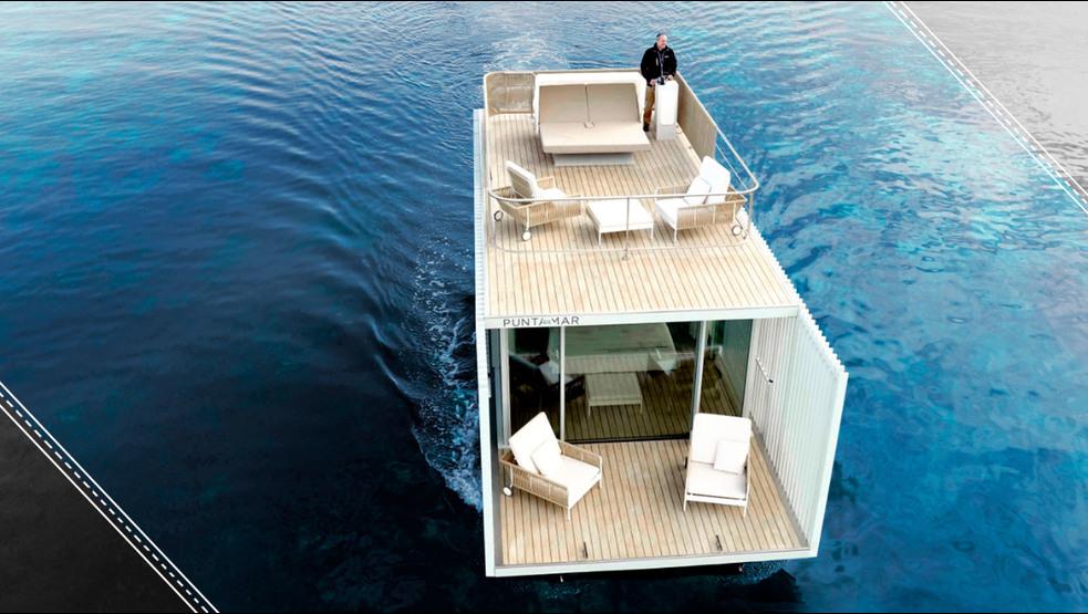 ¿Dormirías en una suite flotante?