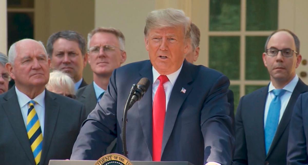 """Trump asegura que EE.UU. Empezará una deportación de """"millones"""" la semana próxima"""