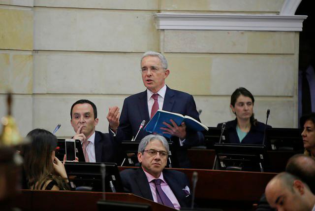 Álvaro Uribe dice que se debe salvaguardar el Estado de Derecho. // Colprensa