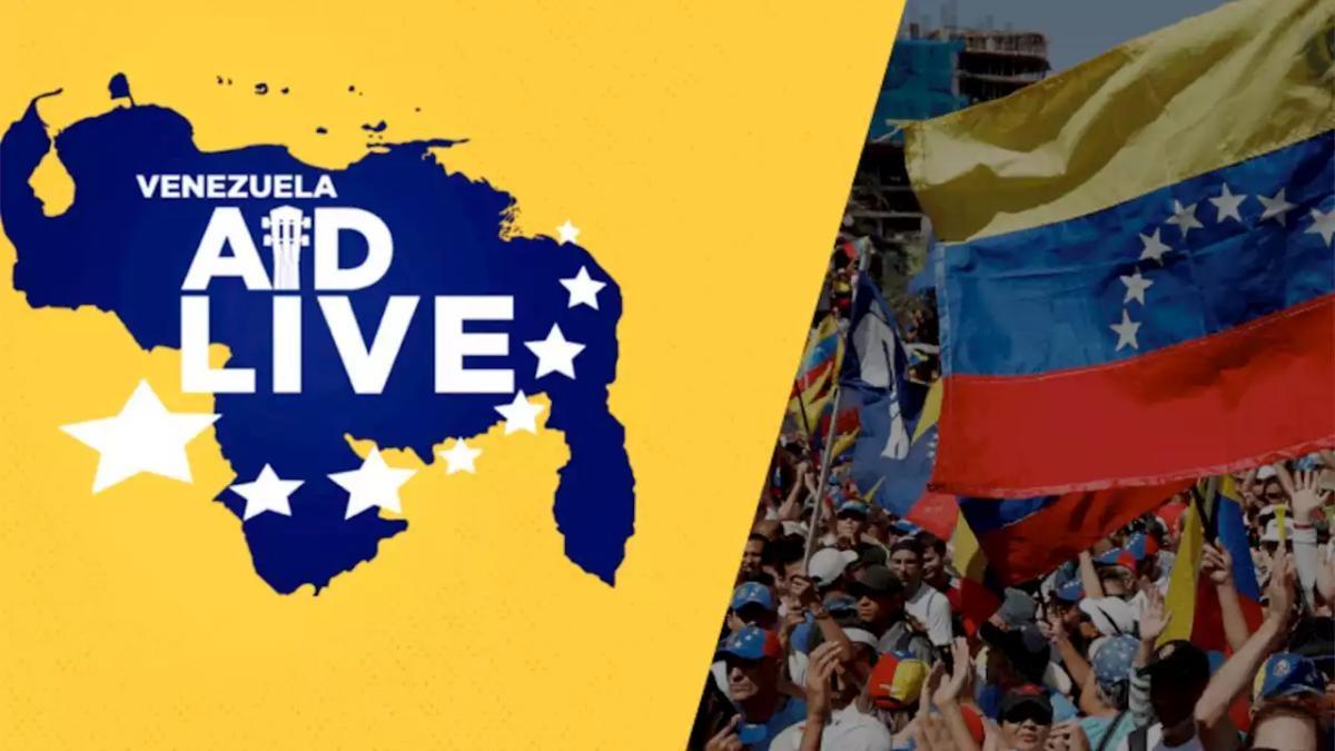 Video: todo listo para el Venezuela Aid Live en Cúcuta