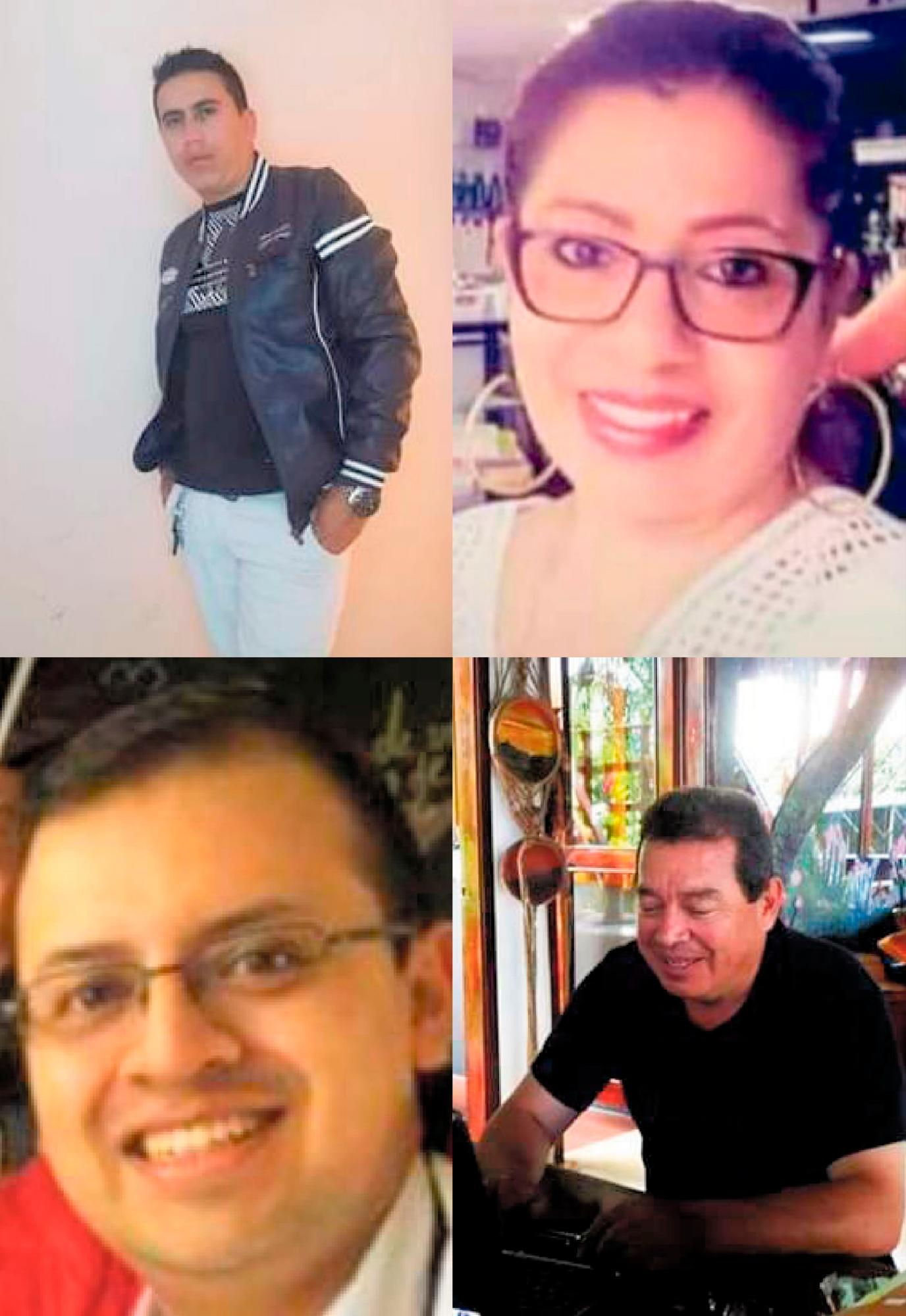 Víctimas de la explosión en el Cauca