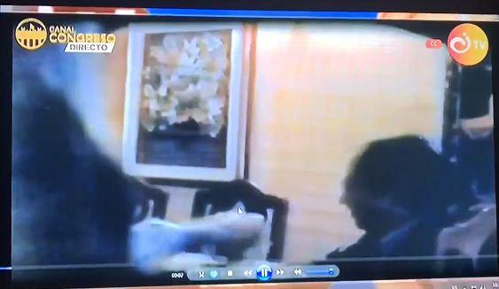 Captura de un video de Gustavo Petro.