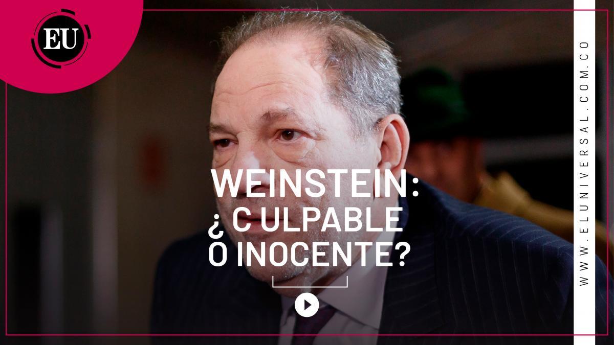 [Video] Jurado del caso Weinstein comienza a deliberar
