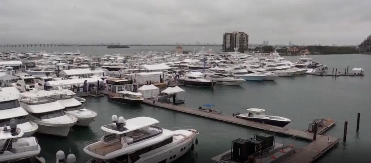 Arranca la feria del yate en Miami con más de 500 embarcaciones