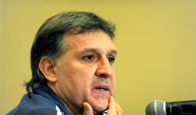 Gerardo Martino, técnico de Paraguay.