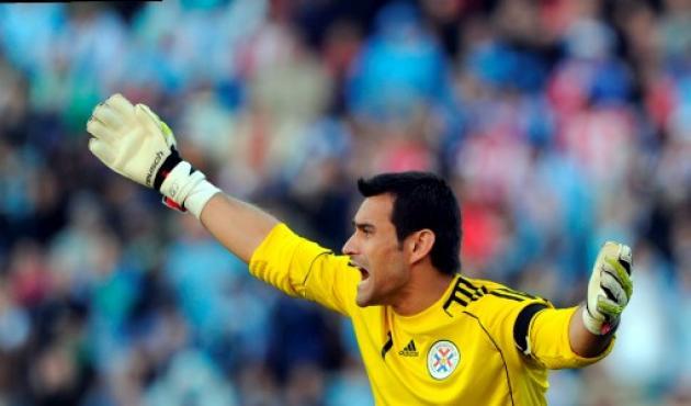 El paraguayo Justo Villar el mejor arquero de la Copa América