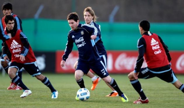 AFP  ALEJANDRO PAGNI - Selección Argentina