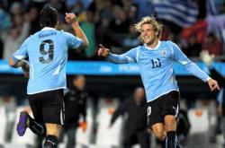 Diego Forlán y Luis Suárez la dupla de oro en de Uruguay.