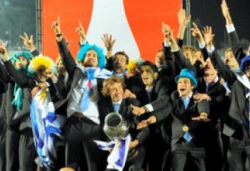 Uruguay celebró su título número 15 en la historia de la Copa América.