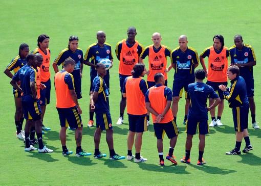 Colombia entrenó pensando en derrotar a Argentina para avanzar en la Copa