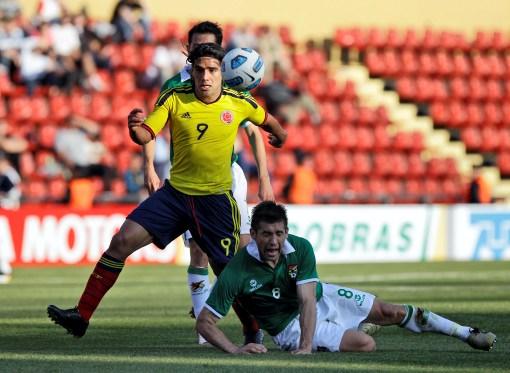 Falcao García mostró su olfato goleador