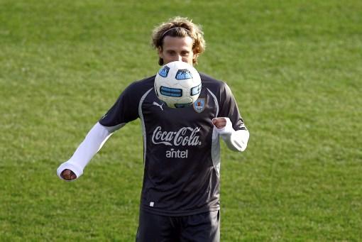 Diego Forlán es el jugador con más partidos en la Copa América.
