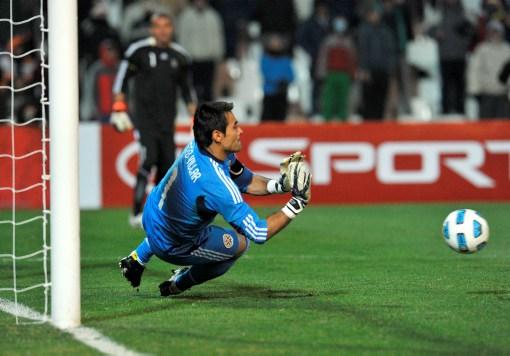 Justo Villar llegó nuevamente al éxito Paraguay y esta vez, a la final.