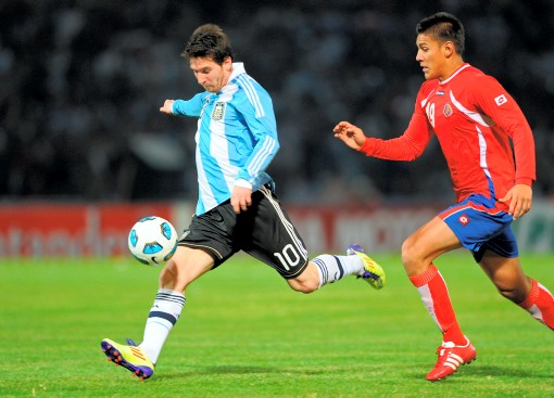 Lionel Messi no ha brillado en Argentina como lo hacer en Barcelona