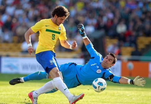 Alexandre Pato, delantero de Brasil, aseguró que la se jugará ante Ecuador