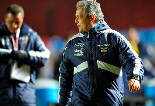 Reinaldo Rueda, técnico de Ecuador, sumó un punto importante ante Paraguay.