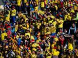 Afición colombiana.