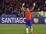 Alexis Sánchez durante uno de los partidos.