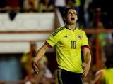 James Rodríguez durante el amistoso contra Costa Rica.