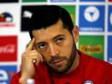 José Rojas durante la rueda de prensa.