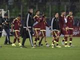 Jugadores venezolanos luego de la derrota contra Perú.