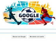 Doodle de Google en homenaje al partido Colombia vs Argentina.