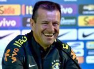 Dunga seleccionador de Brasil.
