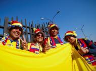 Hinchas colombianos.