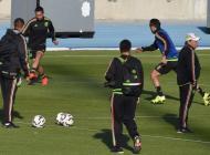 México durante los entrenamientos.