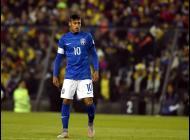 Neymar, jugador brasileño.
