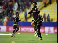 Rafa Márquez en los entrenamientos previos a el partido contra Bolivia.