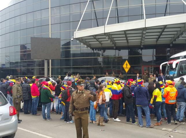 Aficionados Colombianos.
