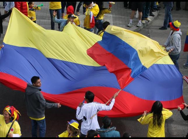 Bogotá se prepara para la fiesta de la Copa América.