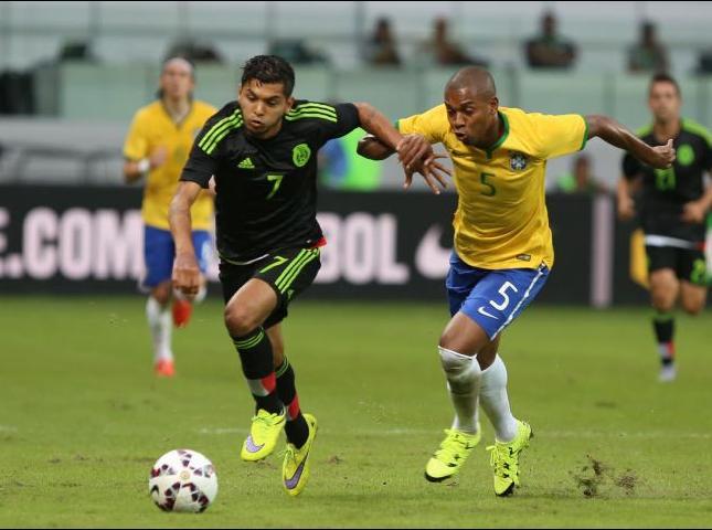 Partido Brasil - México