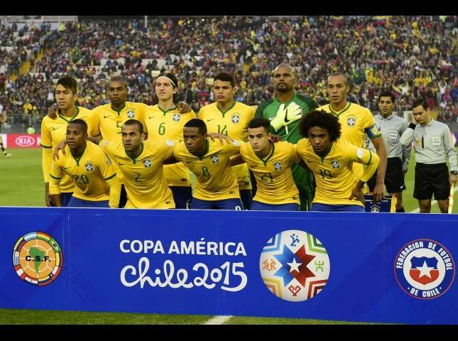 Selección brasileño.